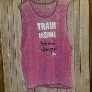 "Betsey Johnson ""Train Insane"" Tank"